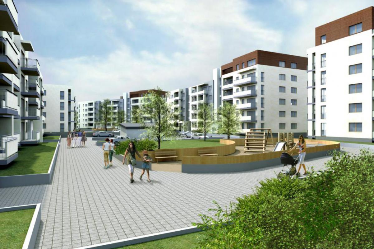 Reduta Nowe Podolany - Poznań, Podolany, ul. Jasielska, EBF DEVELOPMENT Sp. z o.o. Sp.k. - zdjęcie 1