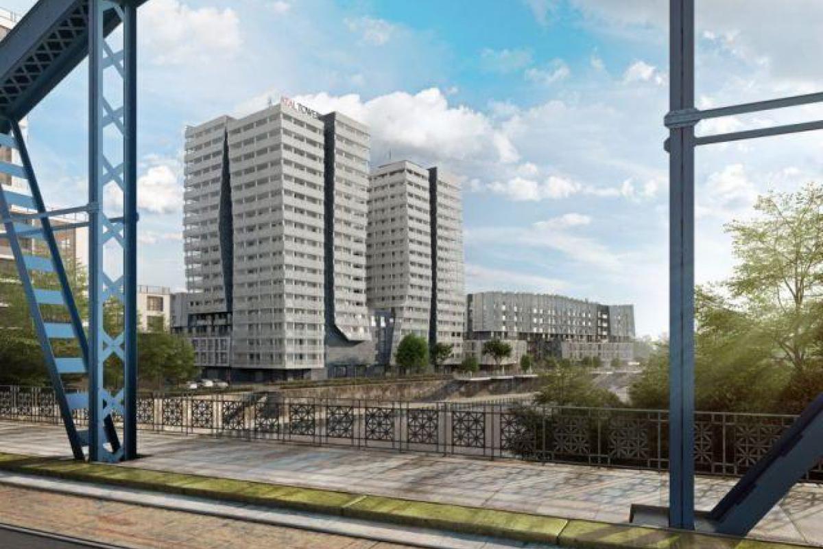 Atal Towers II etap II - Wrocław, Szczepin, ul. Sikorskiego, Atal S.A. - zdjęcie 6
