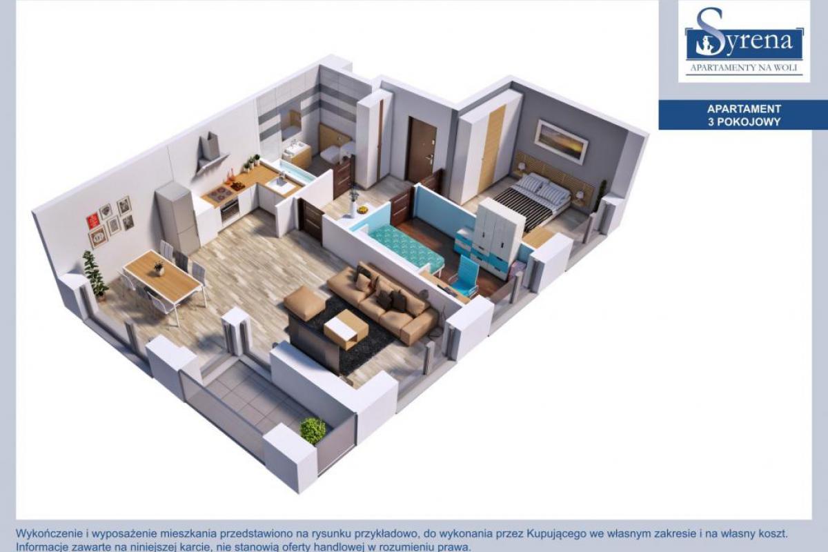 Apartamenty Syrena na Woli - Warszawa, Mirów, ul. Karolkowa, Syrena Invest Sp. z o.o. - zdjęcie 9