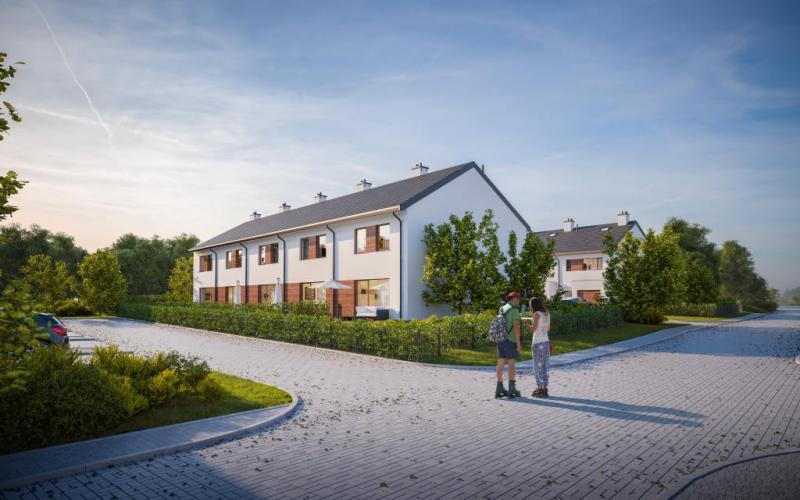 Osiedle Olchowa - domy - Gdańsk, Ujeścisko, ul. Migdałowa, City House - zdjęcie 8