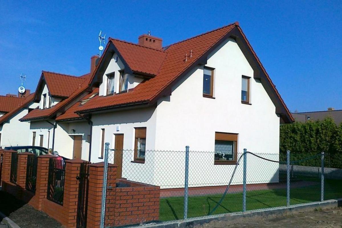 Osiedle domów Szczecin Wołczkowo - inwestycja wyprzedana - Wołczkowo, ul. Lipowa / Owocowa, Handwit Nieruchomości - zdjęcie 1