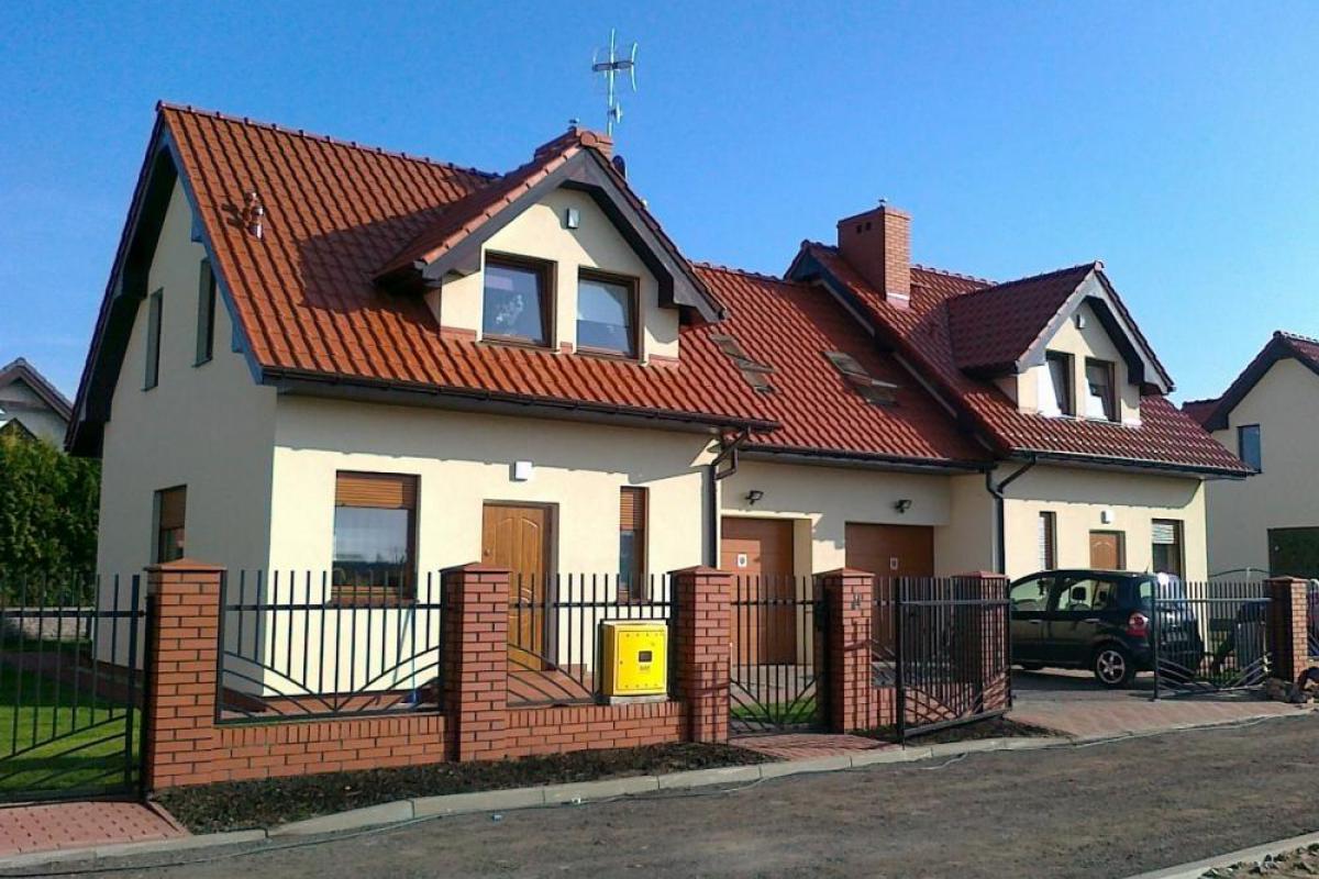 Osiedle domów Szczecin Wołczkowo - inwestycja wyprzedana - Wołczkowo, ul. Lipowa / Owocowa, Handwit Nieruchomości - zdjęcie 2