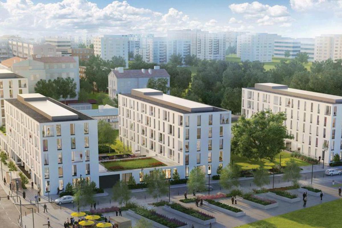 Bobrowiecka 10 - Warszawa, Sielce, ul. Bobrowiecka 10, Alnus Development Sp. z o.o - zdjęcie 3