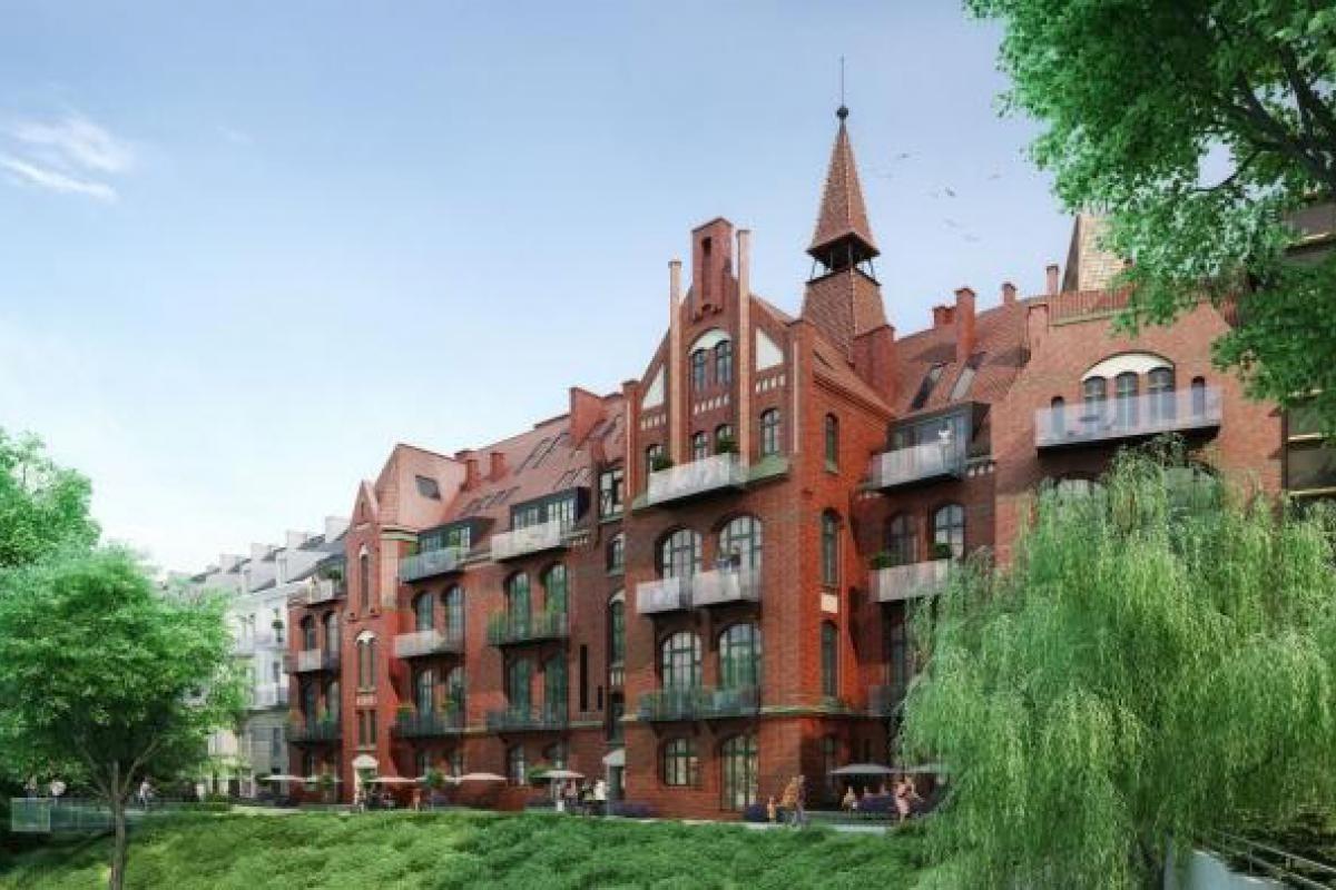 Lofty przy fosie - Wrocław, Szczepin, plac Jana Pawła II, i2 Development Sp. z o.o. - zdjęcie 2