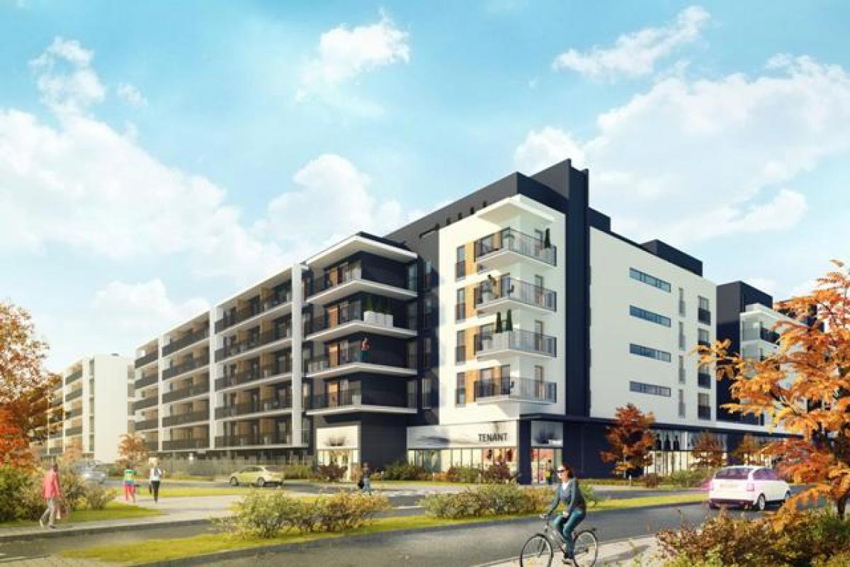 Apartamenty Bakalarska - Warszawa, Raków, ul. Bakalarska, Radius Projekt - zdjęcie 1