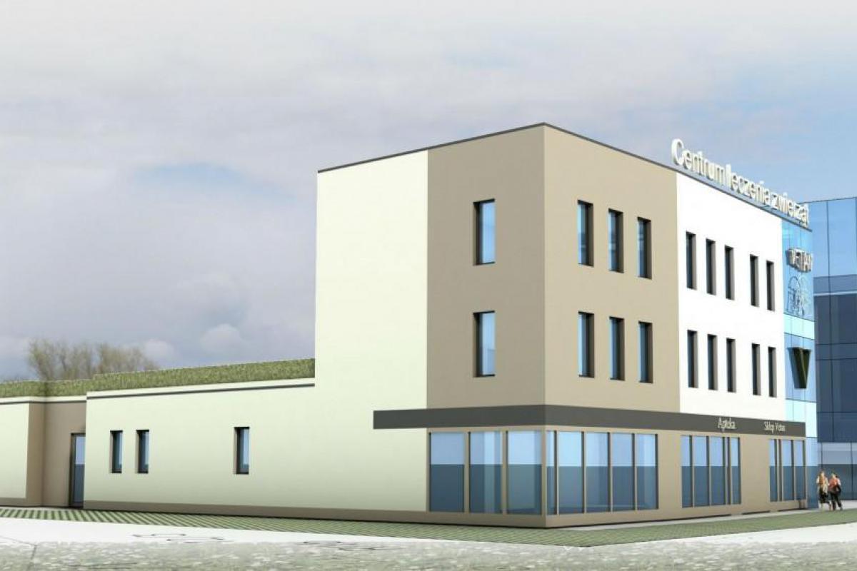 Blue Park - budynek mieszkalno-usługowy - Wrocław, Maślice, ul. Królewiecka, MIDAS Group Sp. z o.o. - zdjęcie 2