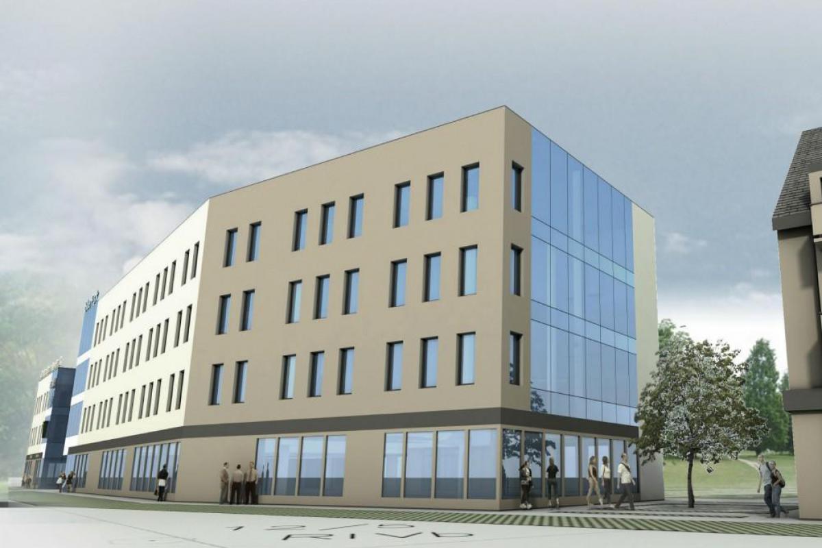 Blue Park - budynek mieszkalno-usługowy - Wrocław, Maślice, ul. Królewiecka, MIDAS Group Sp. z o.o. - zdjęcie 6