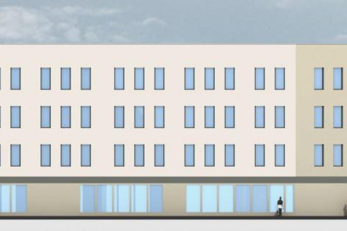 Blue Park - budynek mieszkalno-usługowy - Wrocław, Maślice, ul. Królewiecka, MIDAS Group Sp. z o.o. - zdjęcie 7