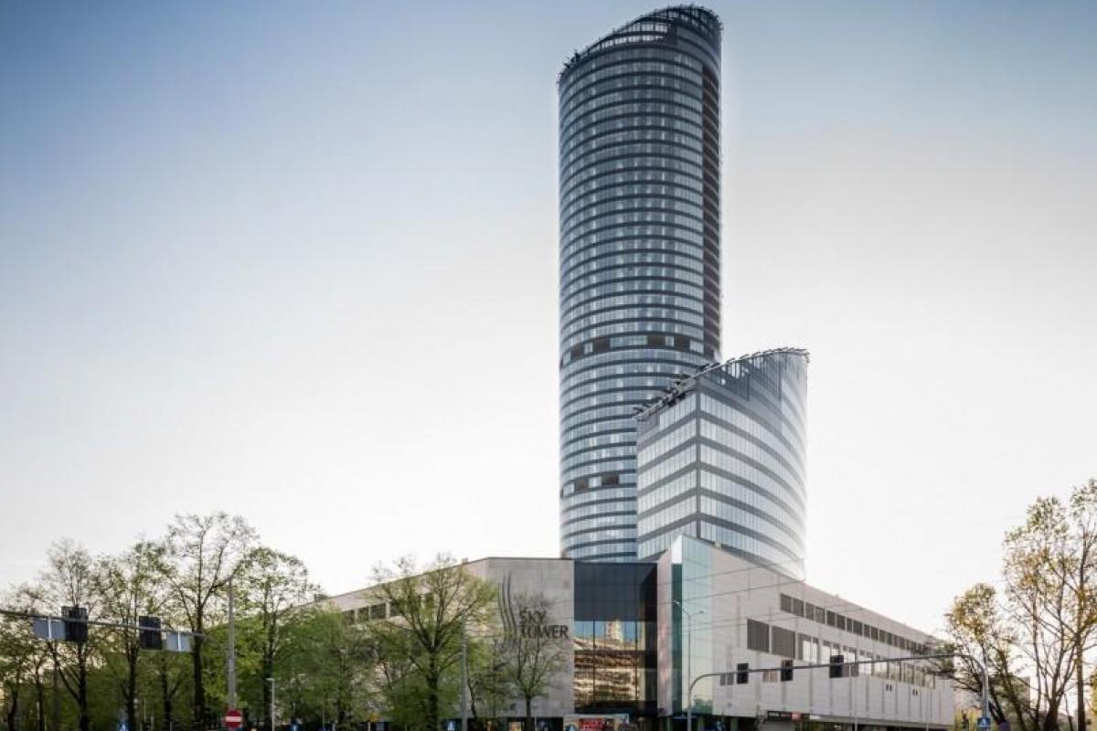 Sky Tower - Wrocław, Południe, ul. Powstańców Śląskich 95, LC Corp S.A. - zdjęcie 1