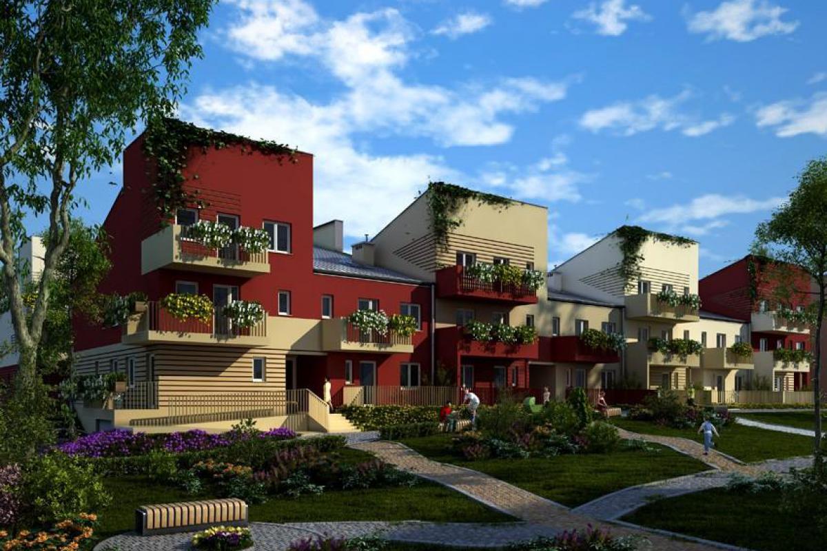 Giardini Verona - Wrocław, Oporów, ul. Honoriusza Balzaka, Verona Building Sp. z o.o. - zdjęcie 3