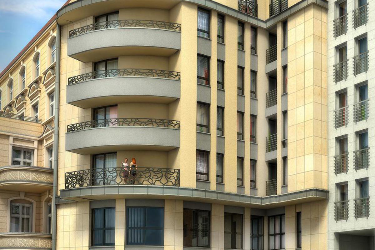 Budynek usługowo mieszkalny - Wrocław, Nadodrze, ul. Jedności Narodowej 93-93a, Locum Investment Sp. z o.o. - zdjęcie 2