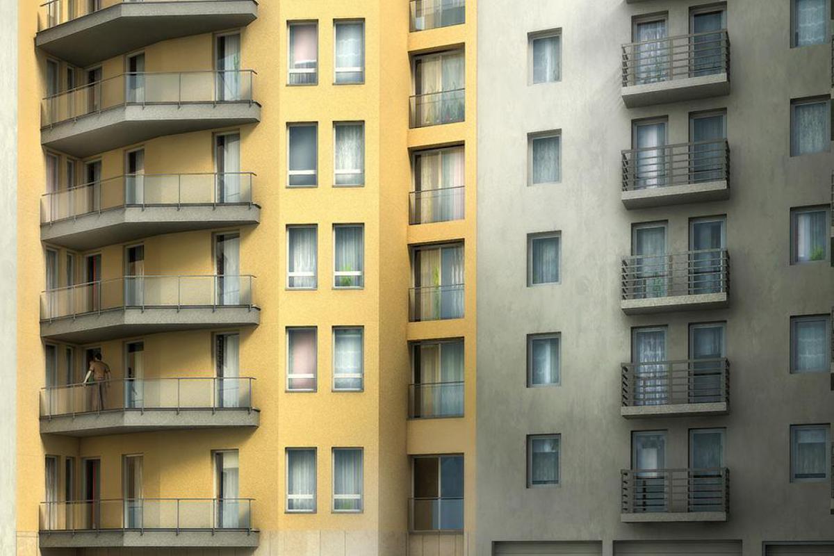 Budynek usługowo mieszkalny - Wrocław, Nadodrze, ul. Jedności Narodowej 93-93a, Locum Investment Sp. z o.o. - zdjęcie 3