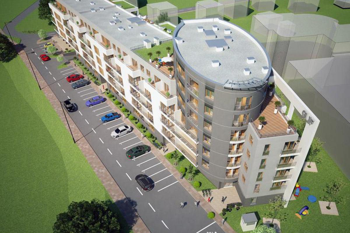 Apartamenty Skarpa - Pruszków, ul. Wołowskiego, P.P.U.H GLIF Sławomir Ziółkowski - zdjęcie 1