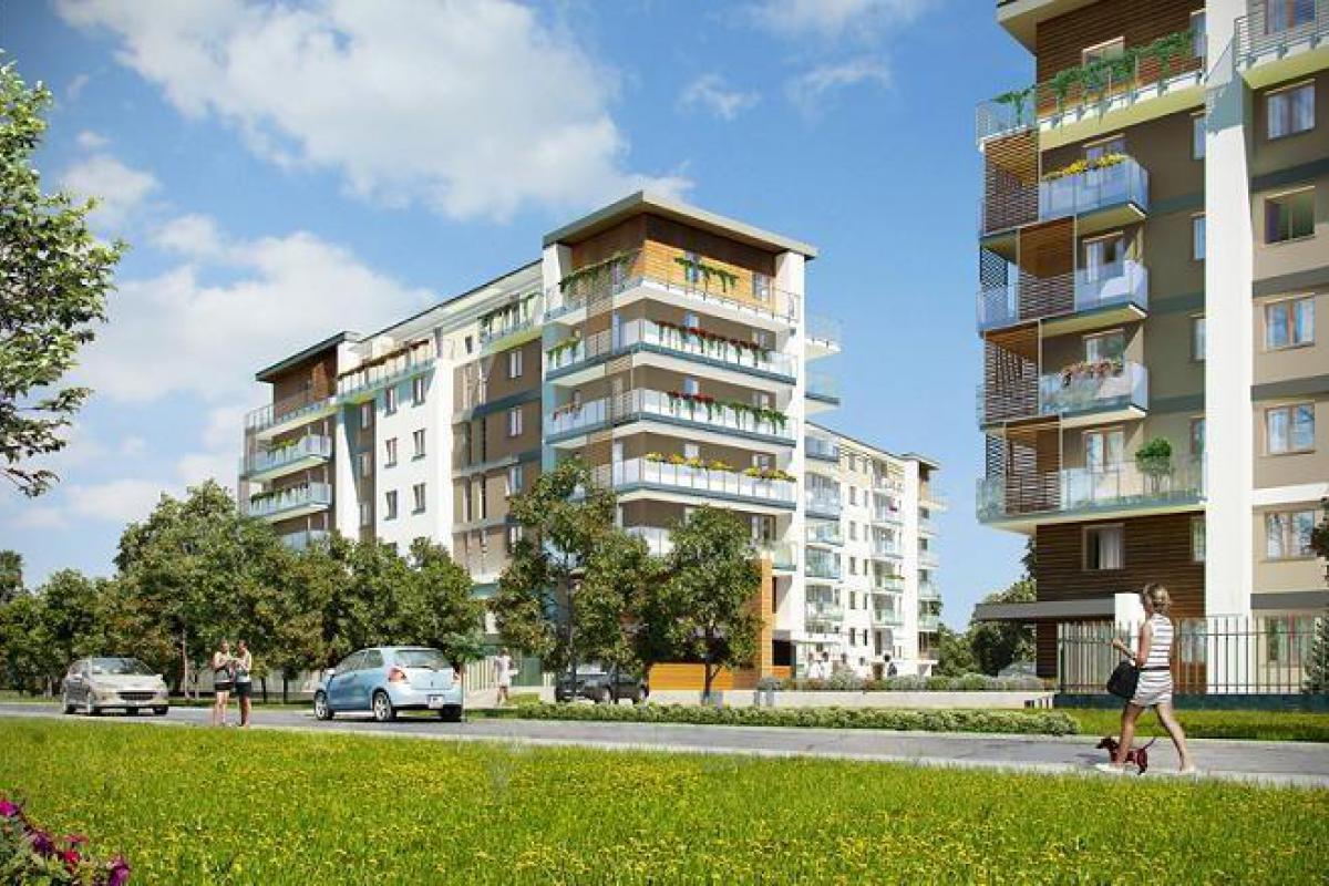 Osiedle Oaza I - Wrocław, ul. Nyska / ul. Piękna, Dom Development S.A. - zdjęcie 1