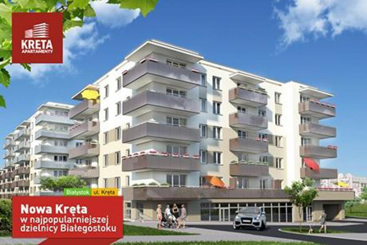 Apartamenty Kręta - Białystok, Nowe Miasto, ul.Kręta, Rogowski Development Sp. z o.o. - zdjęcie 1