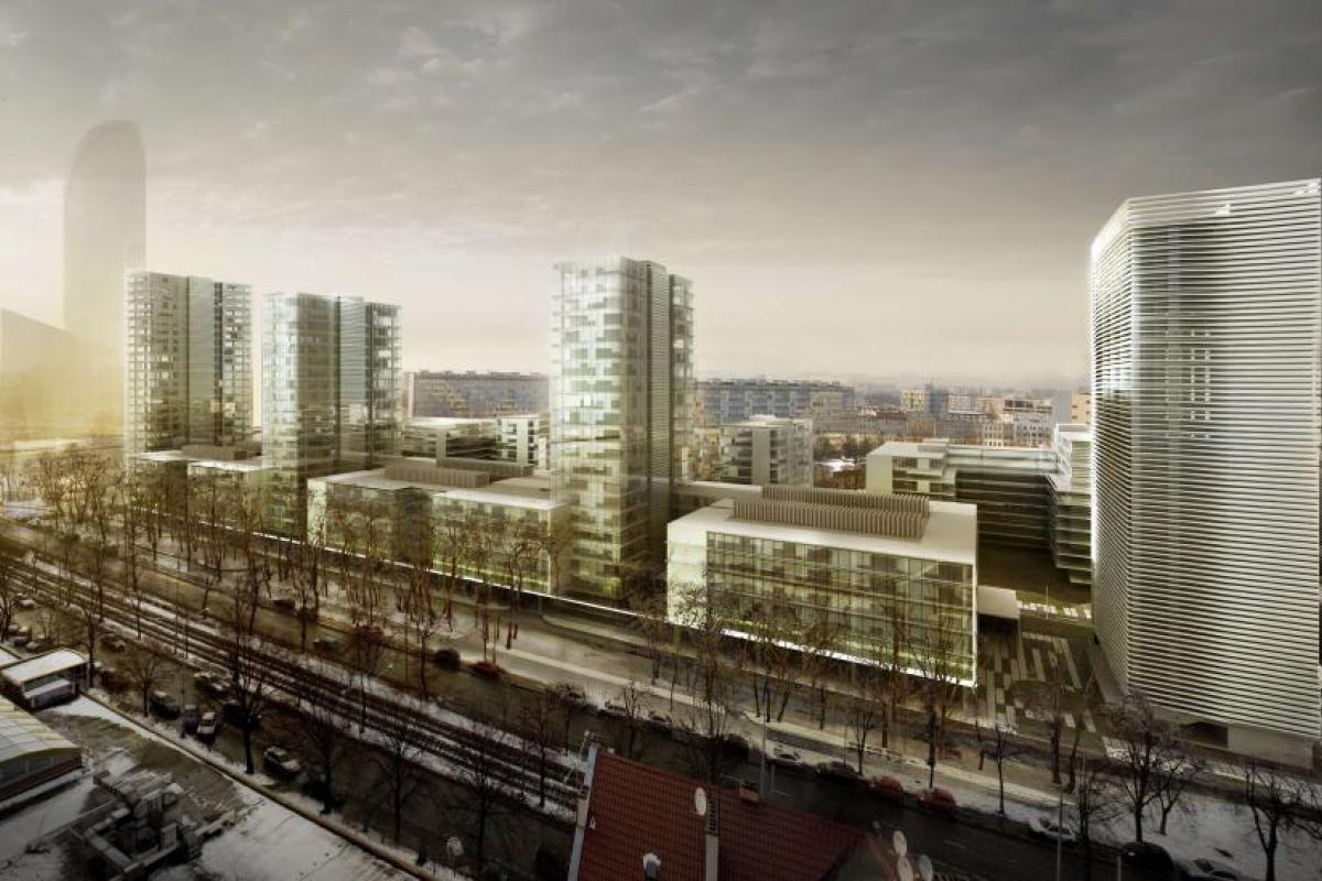 Nowe Centrum Południowe Etap II - Wrocław, Południe, ul. Gwiaździsta 36, GPI Wrocław Sp z o. o. - zdjęcie 2