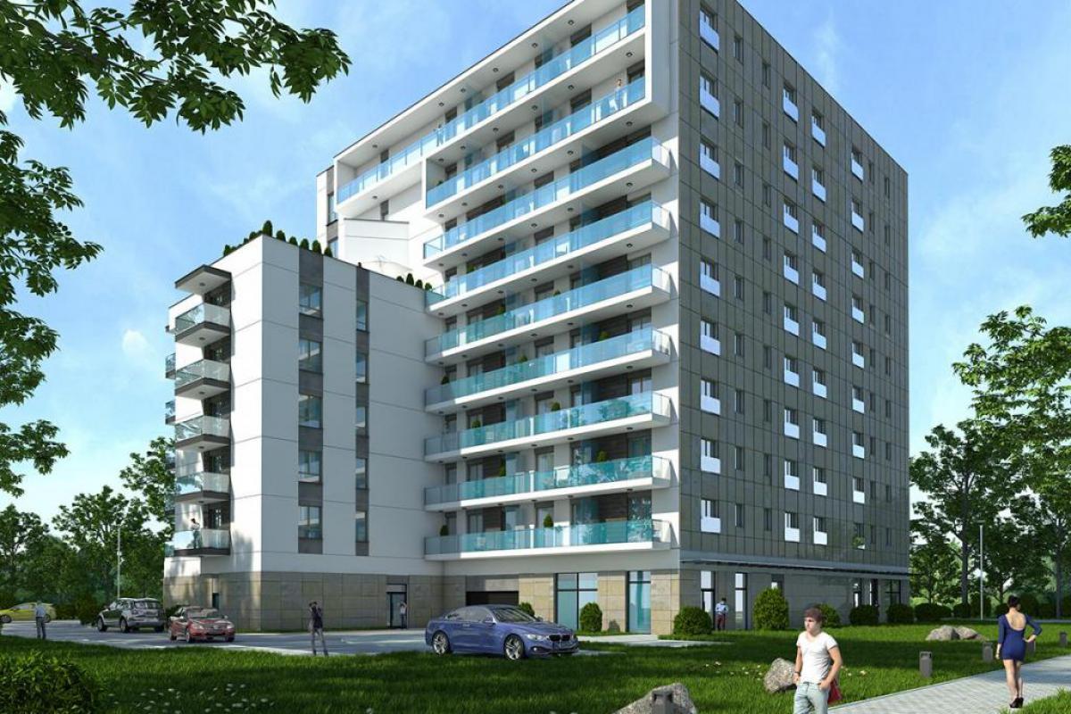 """Apartamenty Bielańskie - Warszawa, Chomiczówka, ul. Rudnickiego 1, Przedsiębiorstwo Wielobranżowe """"BUDOMEX"""" Sp.z o.o. - zdjęcie 1"""