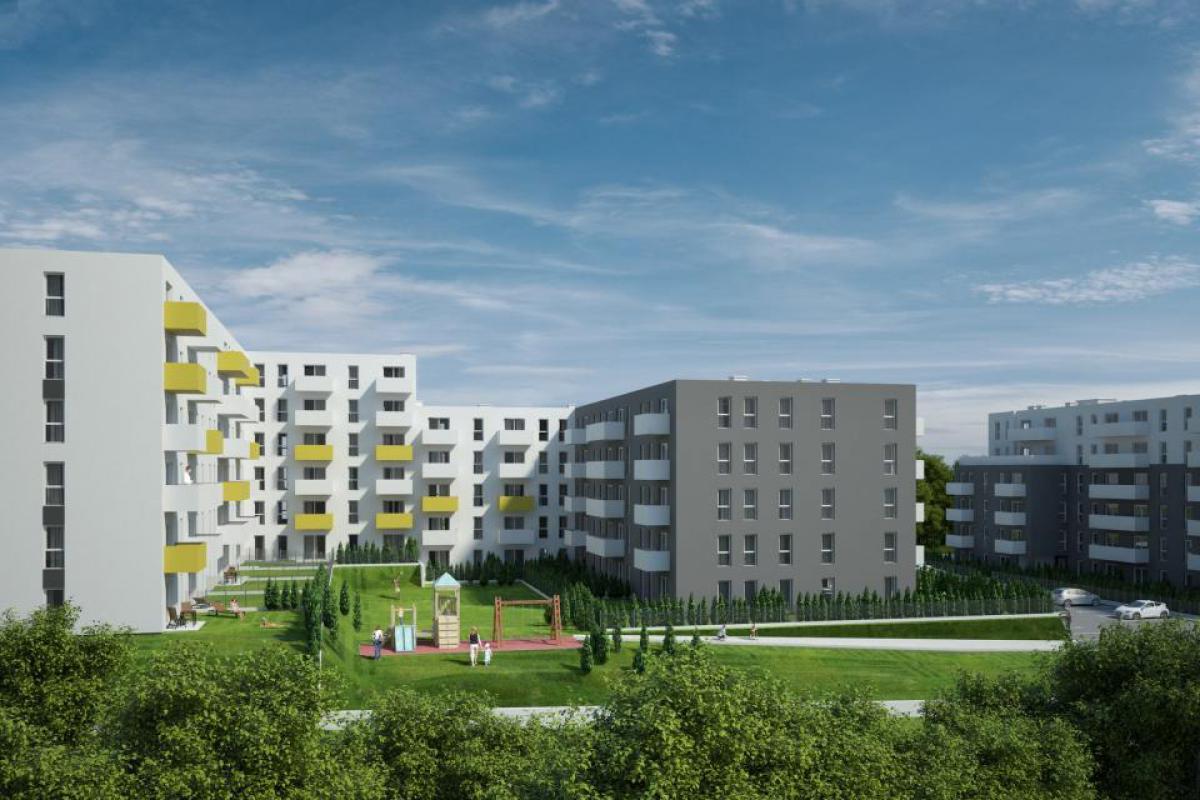 MURAPOL ŚLĄSKIE OGRODY - Nowe mieszkania w centrum Katowic - Katowice, Welnowiec, ul. Bytkowska, Murapol S.A. - zdjęcie 2