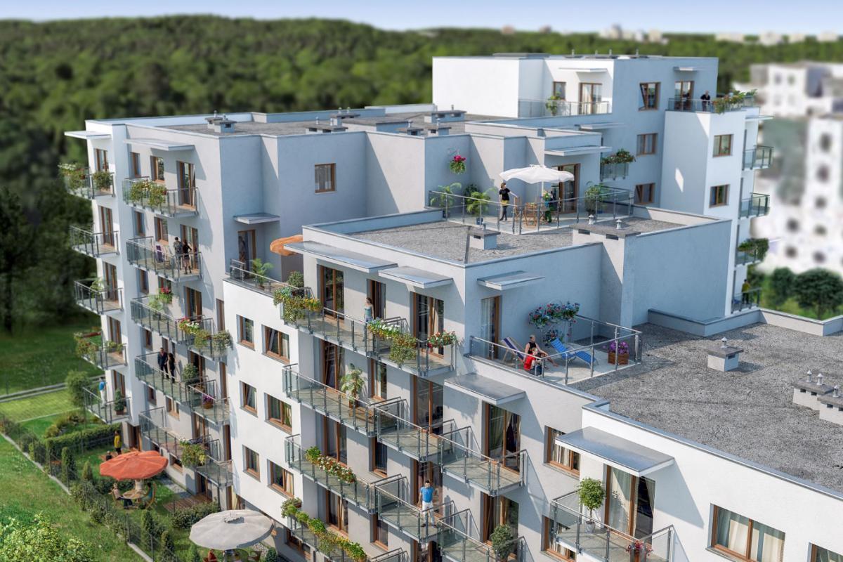 Osiedle przy Lesie III - Warszawa, Anin, Osiedle przy Lesie, Unimax Development Sp. z o.o. - zdjęcie 2