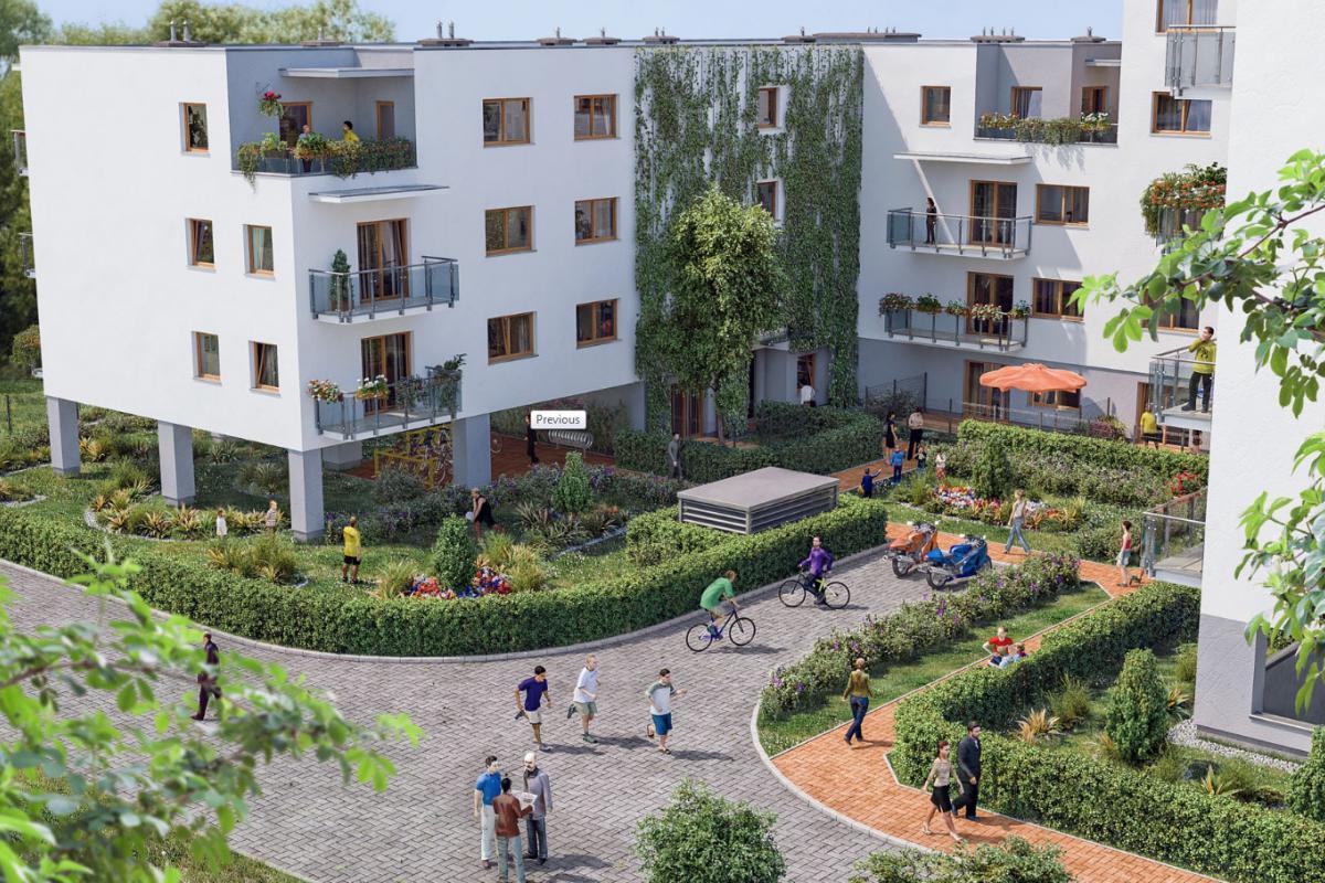 Osiedle przy Lesie III - Warszawa, Anin, Osiedle przy Lesie, Unimax Development Sp. z o.o. - zdjęcie 3