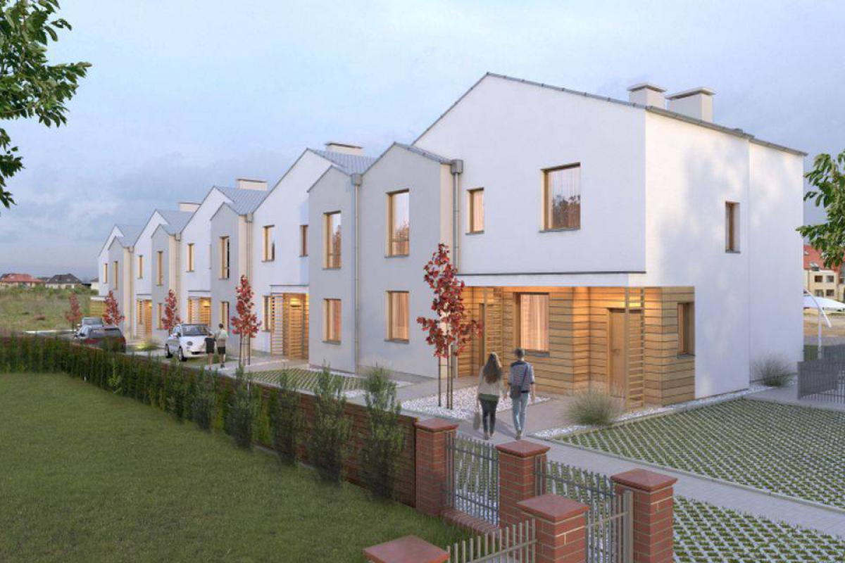 Domy szeregowe Kminkowa - inwestycja wyprzedana - Bezrzecze, ul. Kminkowa , Neptun Developer - zdjęcie 1