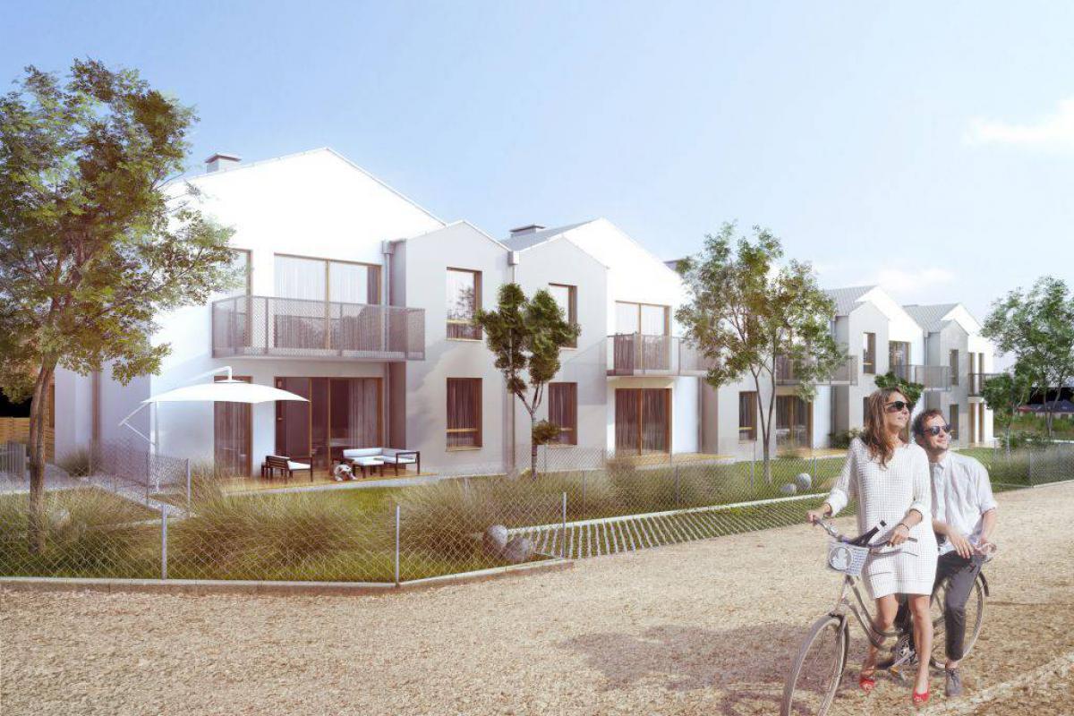 Domy szeregowe Kminkowa - inwestycja wyprzedana - Bezrzecze, ul. Kminkowa , Neptun Developer - zdjęcie 2