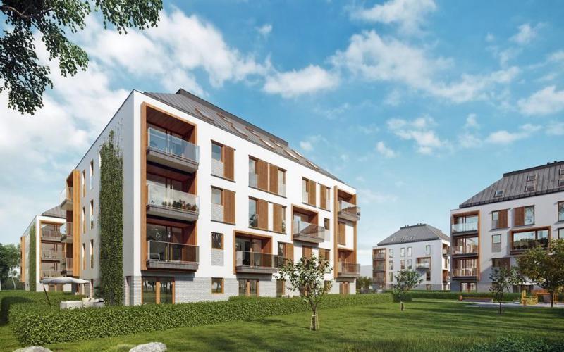 Mieszkanie 3 Pokoje Powierzchnia 6155 M2 A02 Strzeszyn Park