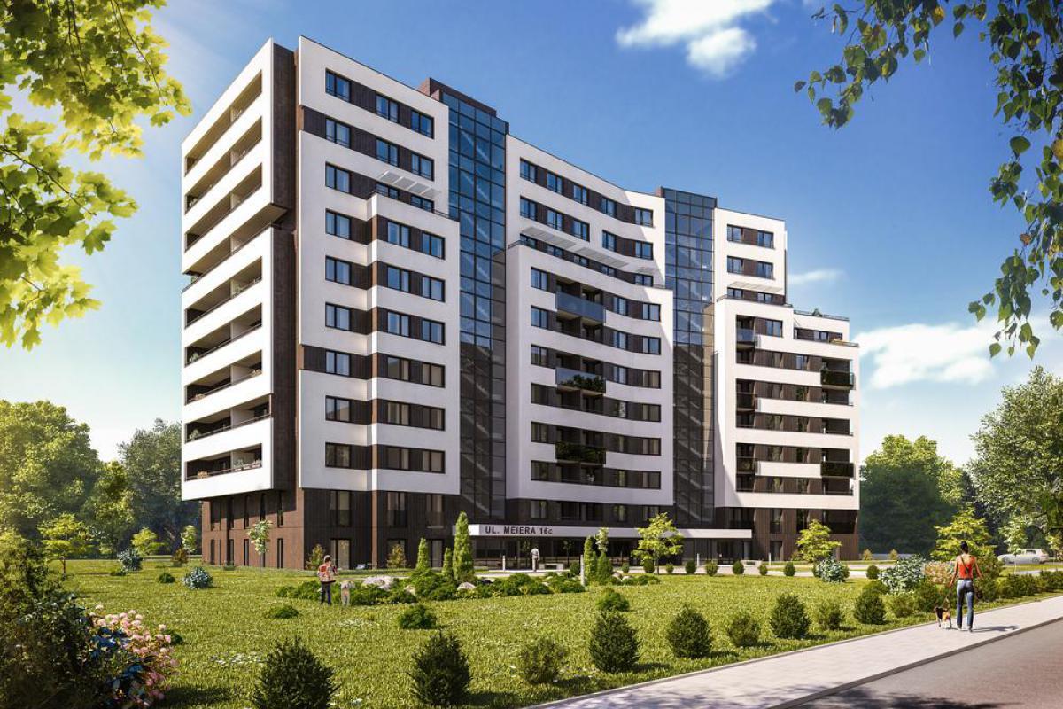M House - Kraków, Górka Narodowa, ul. Meiera, Inter-Bud Developer Sp. z o.o. - zdjęcie 1