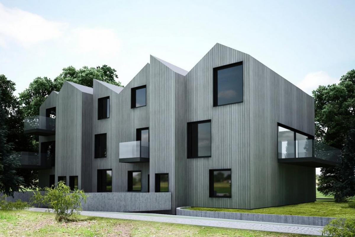 Wood House - Kraków, Bronowice Wielkie, ul. Lazurowa, Modern Living Development Sp. z o.o. - zdjęcie 1