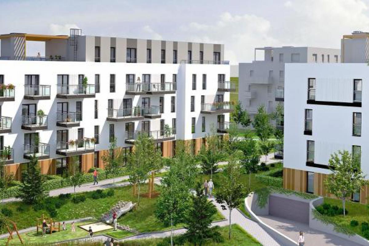 Zielone Bemowo - Warszawa, Chrzanów, ul. Lazurowa 7, Cordia - zdjęcie 1