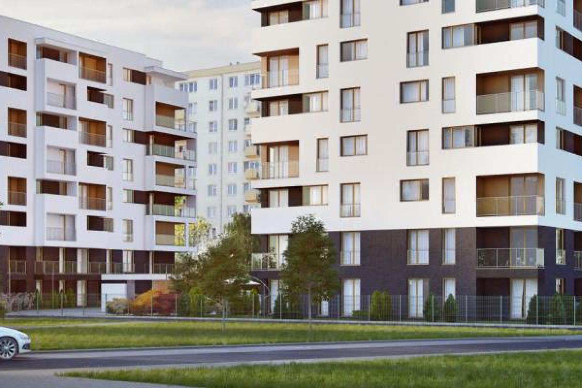 Apartamenty Danka - Kraków, Prądnik Biały, ul. W. Danka, Krak-Kolor Deweloper Plus Sp. z o. o. Danka Sp. K. - zdjęcie 1