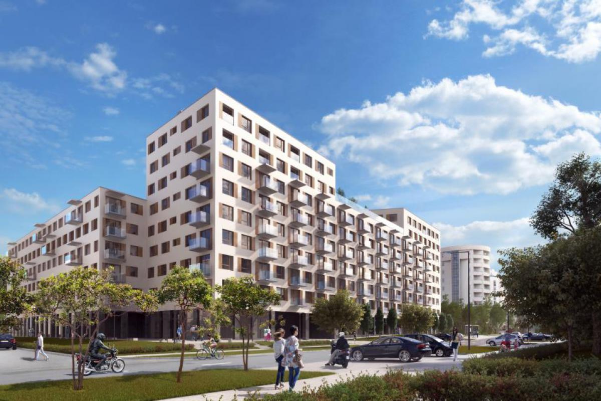 Lanciego 12 - Warszawa, Ursynów - Centrum, ul. Lanciego / ul. Migdałowa, ARCHE Sp. z o.o. - zdjęcie 2
