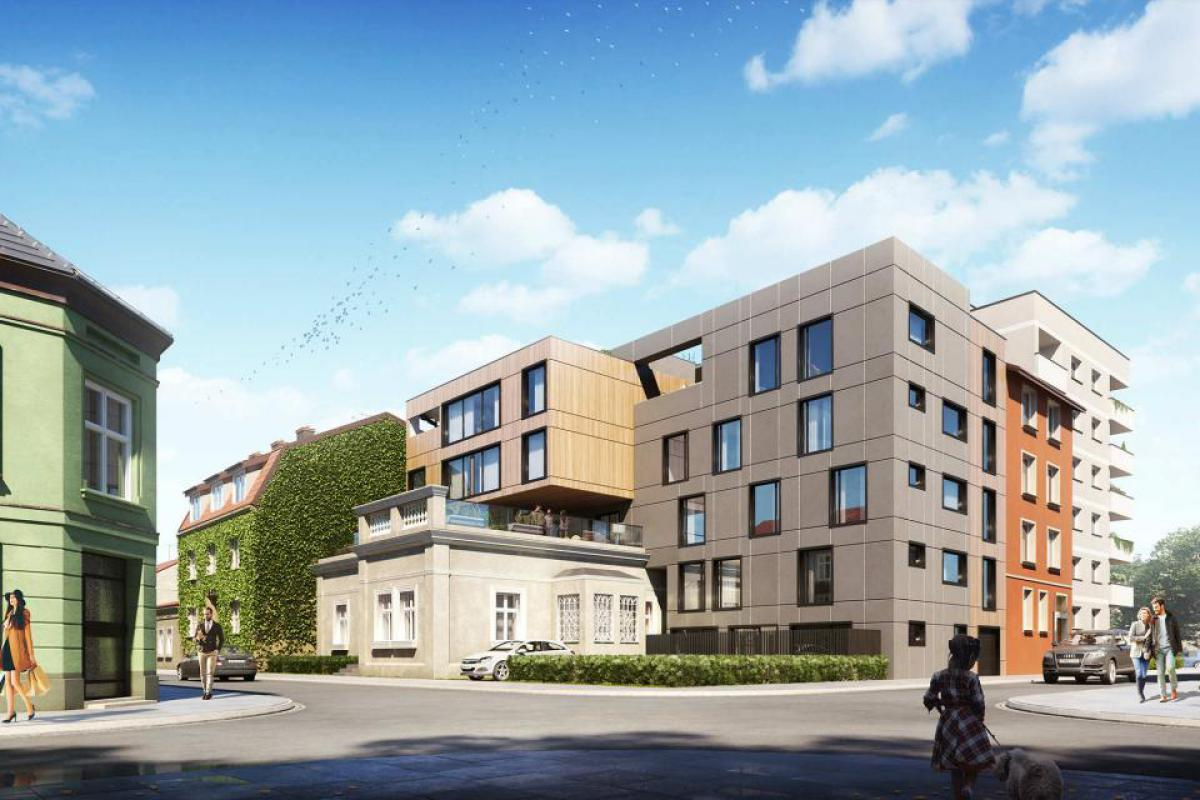 Apartamenty Różana - Kraków, Dębniki, ul. Różana, Core Development Sp. z o.o. - zdjęcie 1