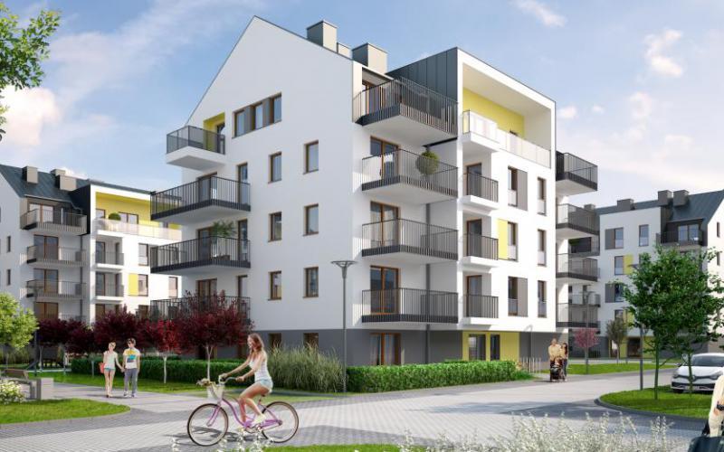 Osiedle Perspektywa - Poznań, Naramowice, ul. Sielawy, Echo Investment S.A. - zdjęcie 1