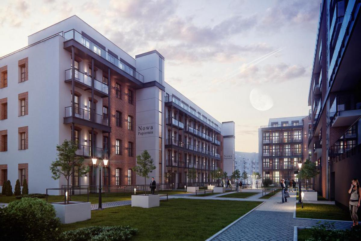 Nowa Papiernia - Wrocław, Przedmieście Oławskie, ul. Gen. T. Kościuszki 142a, RED Real Estate Development Sp. z o.o.  - zdjęcie 1