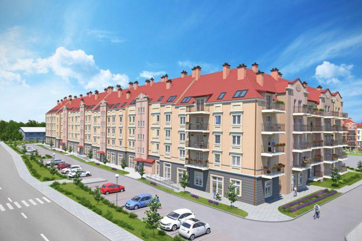 Osiedle Przylesie przy ul. Borowej  -IV etap - Olsztyn , Podleśna, ul. Borowa 4 , Iławskie Przedsiębiorstwo Budowlane  - zdjęcie 1