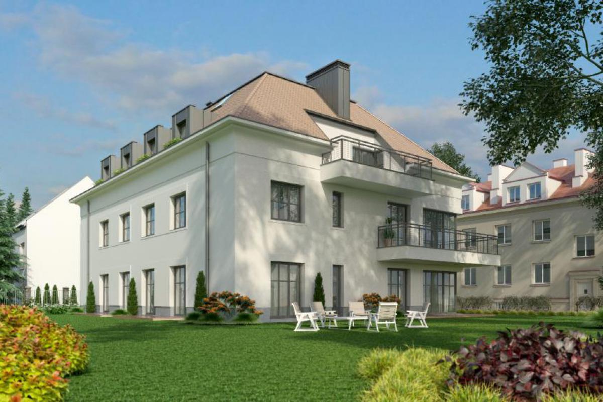 Villa Sadyba - Warszawa, Stegny, ul. Nałęczowska, Eiffage Polska Nieruchomości - zdjęcie 1