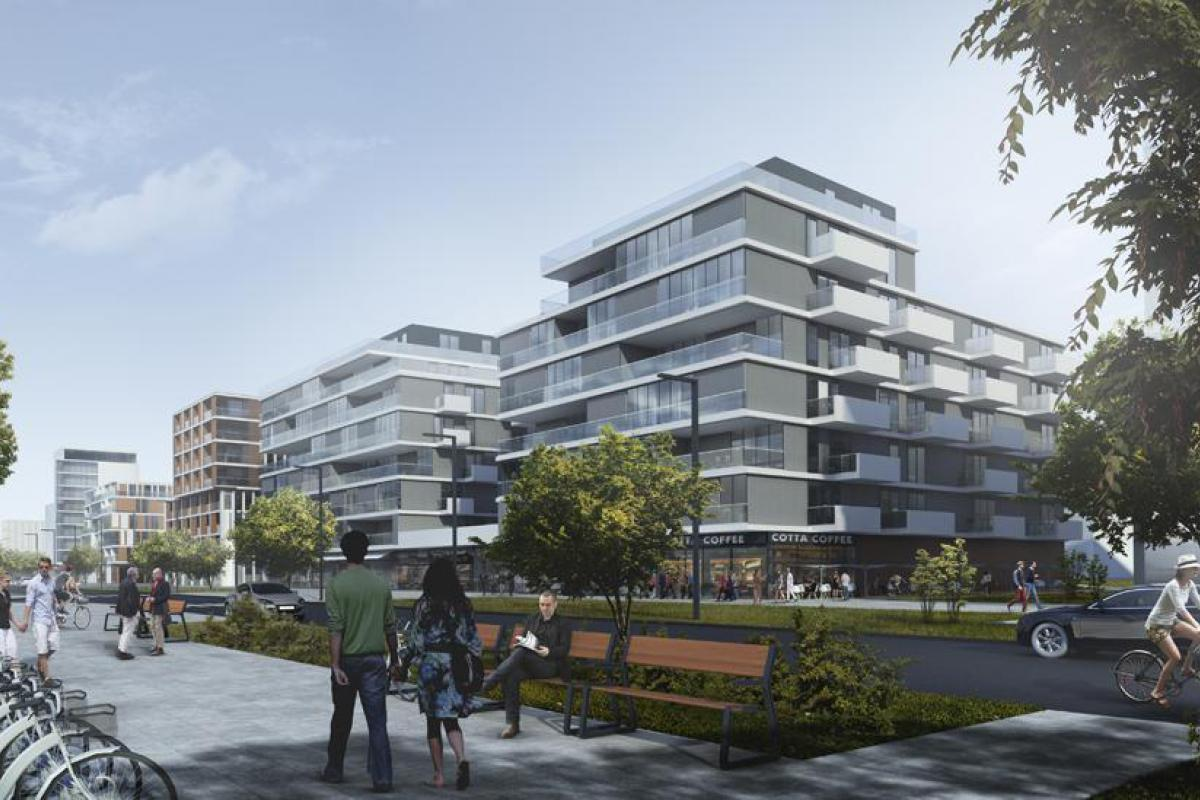 Apartamenty Nowy Marysin - Warszawa, Marysin Wawerski, ul. Połczyńska/Marsa, APM Development - zdjęcie 1