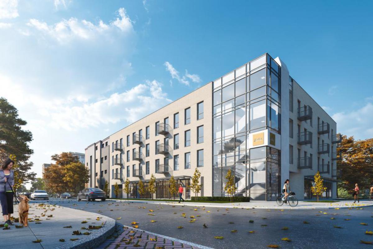 Apartamenty Tyszkiewicza - Warszawa, Młynów, ul. Tyszkiewicza, ARCHE Sp. z o.o. - zdjęcie 1