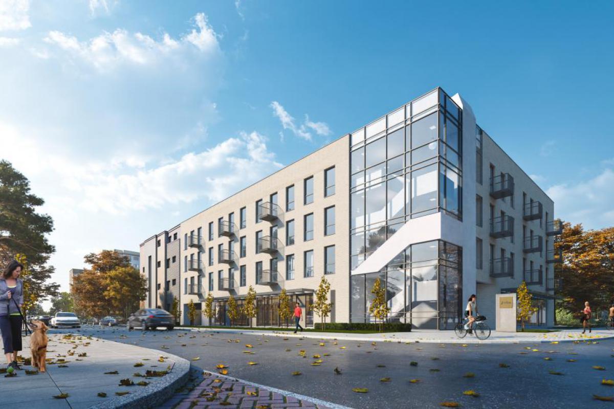 Apartamenty Tyszkiewicza - Warszawa, Młynów, ul. Tyszkiewicza, ARCHE Sp. z o.o. - zdjęcie 2