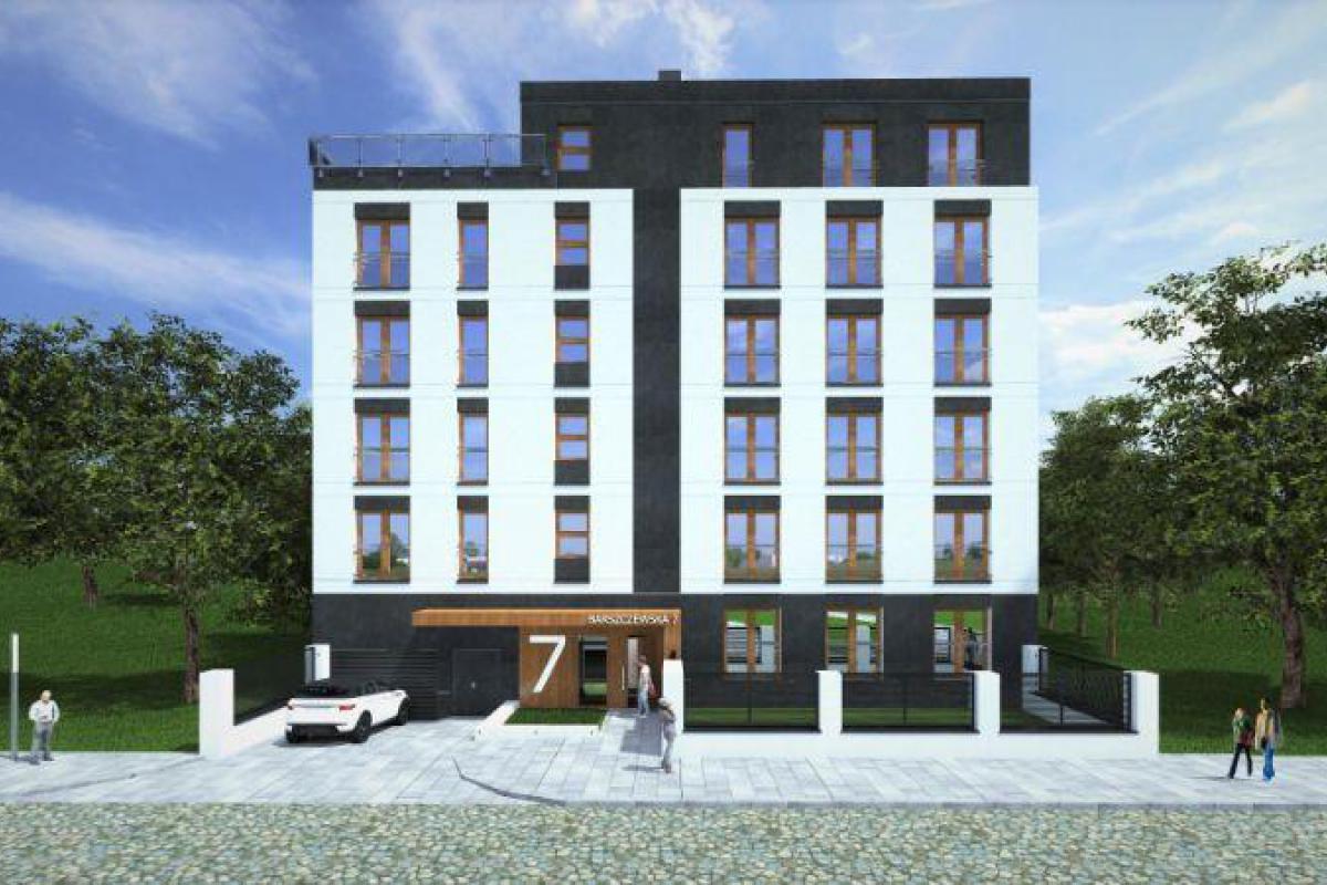 Apartamenty Kępa Potocka - Warszawa, Marymont, ul. Barszczewska 7, Willa Developer Sp. z o.o. Sp.k - zdjęcie 1