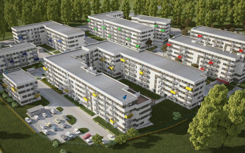 ul. Druskienicka - Poznań, Podolany, ul. Druskienicka, Wechta Inwestycje sp. z o.o. - zdjęcie 5