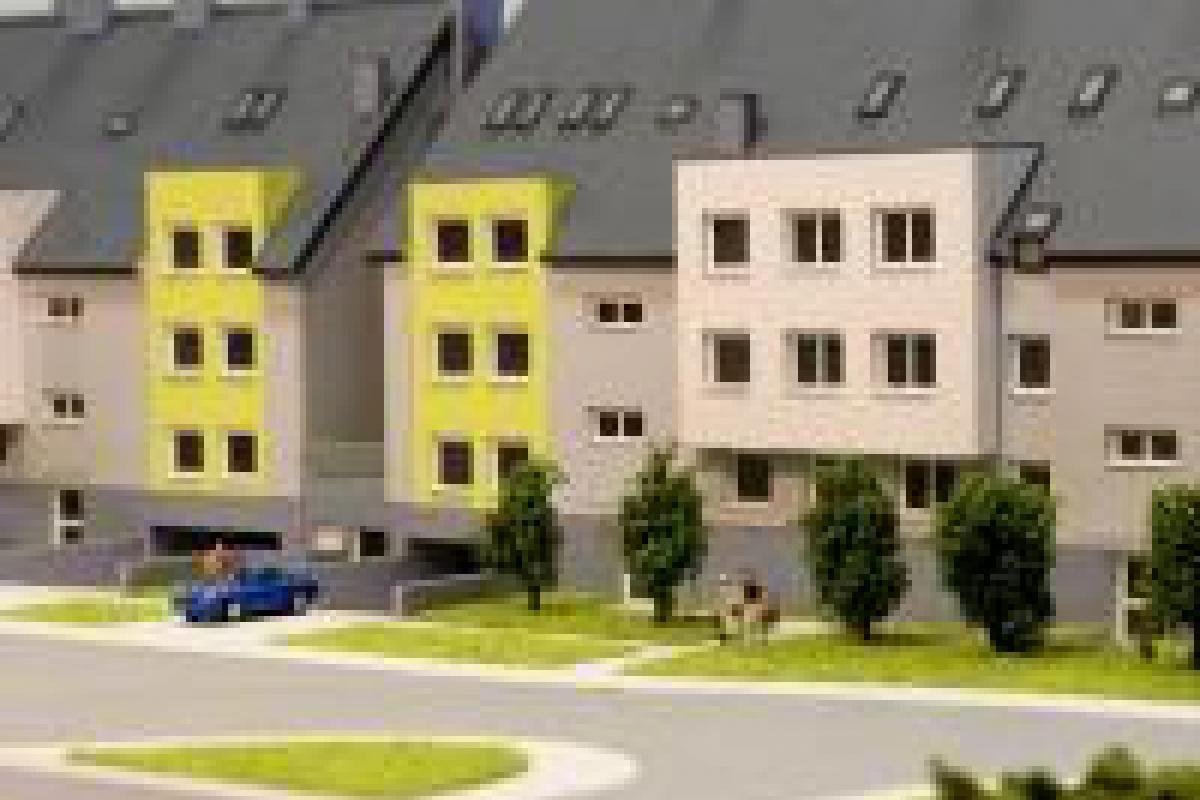 Osiedle Hibiskus - Wrocław, Złotniki, ul. Kosmonautów, Budotex Sp. z o.o. - zdjęcie 4