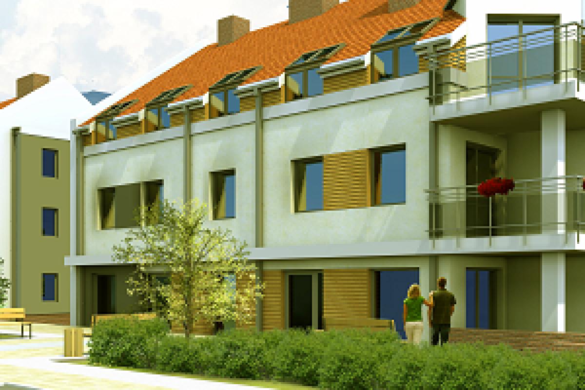 Osiedle mieszkaniowe w Olsztynie przy ul. Żurawiej - Olsztyn, ul. Żurawia, Ekobud Sp. z. o.o. - zdjęcie 1