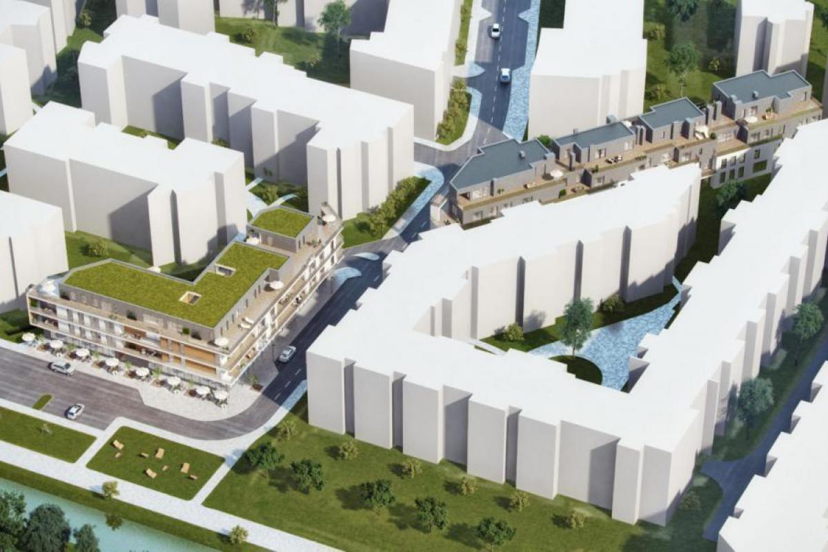 Wilanów Park Apartments - Warszawa, Błonia Wilanowskie, ul. Rycerstwa Polskiego, Klondaik Deweloper - zdjęcie 7