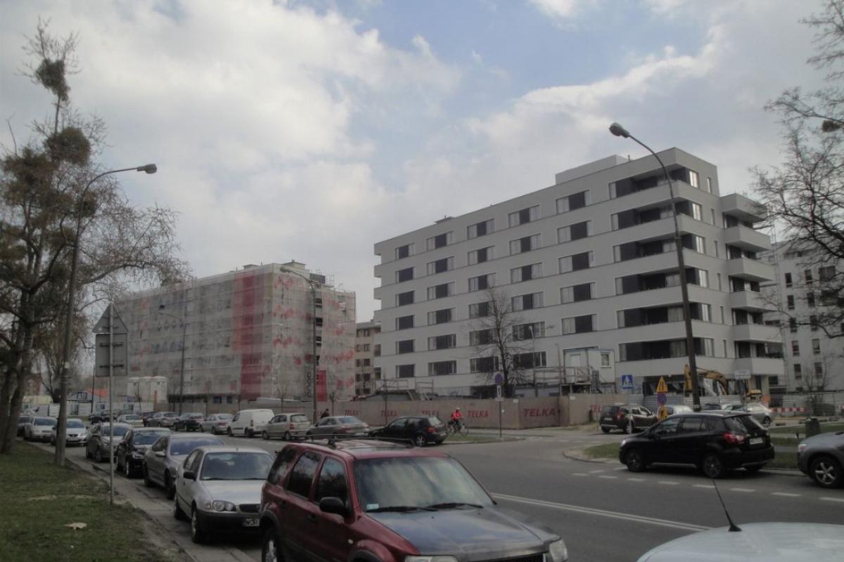 Conrada 3 - Warszawa, Chomiczówka, ul. Conrada, Warszawska Spółdzielnia Budowlano Mieszkaniowa Chomiczówka - zdjęcie 2