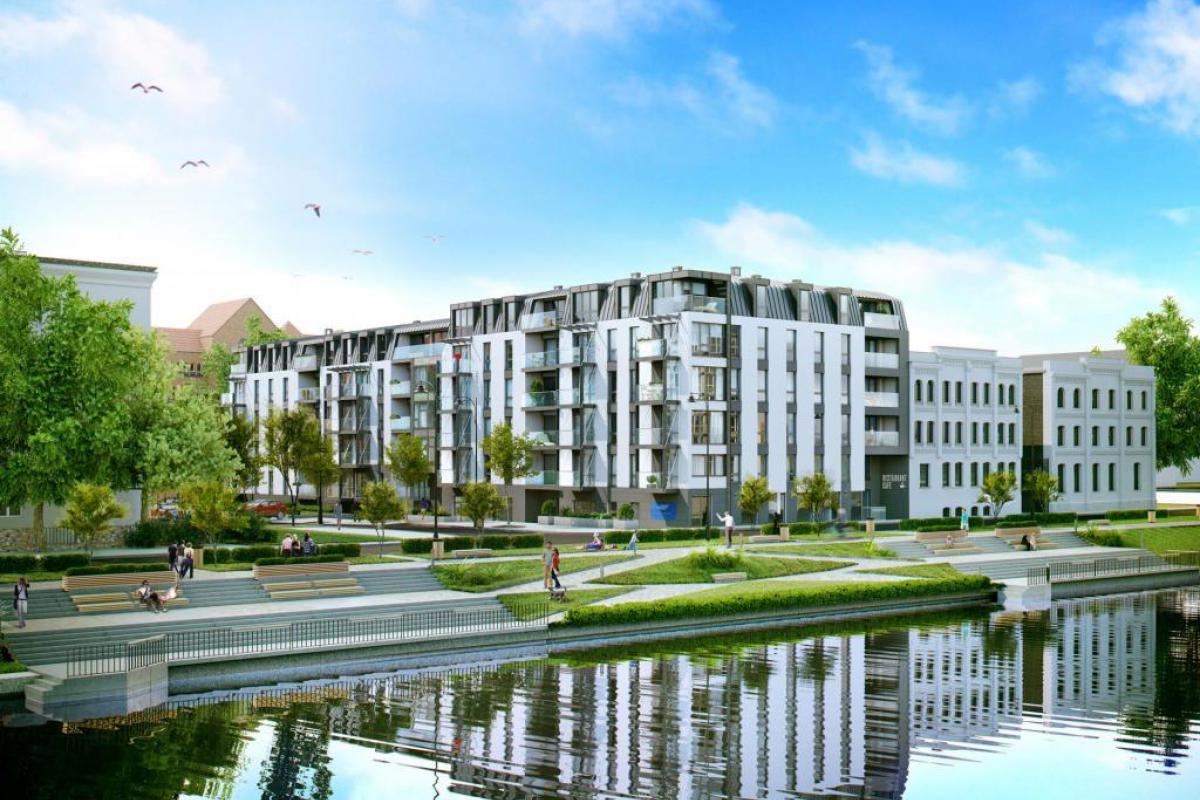 RiverFront - Gdańsk, Wyspa Spichrzów, ul. Kamienna Grobla 30, Opus Investment Sp. z o.o. Sp. k. - zdjęcie 1