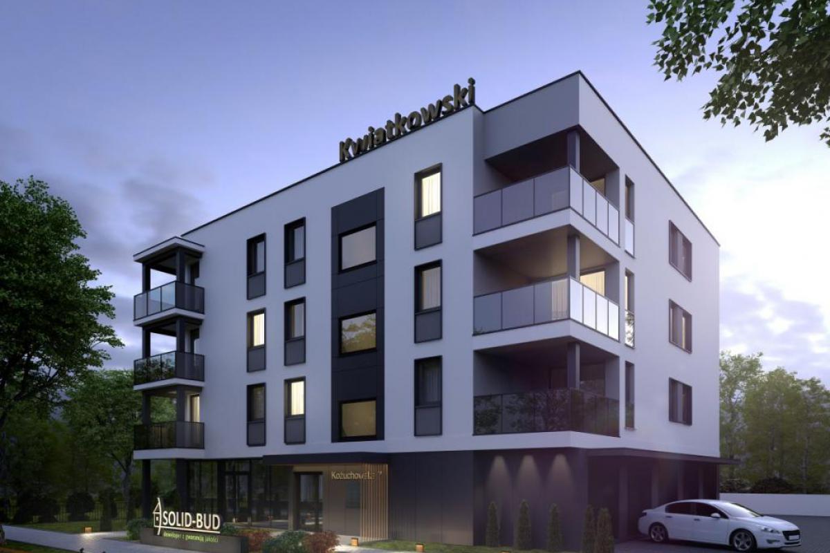 Apartamenty Kożuchowska 7 - inwestycja wyprzedana - Zielona Góra, ul. Kożuchowska 7, SOLID-BUD Sebastian Kwiatkowski - zdjęcie 1