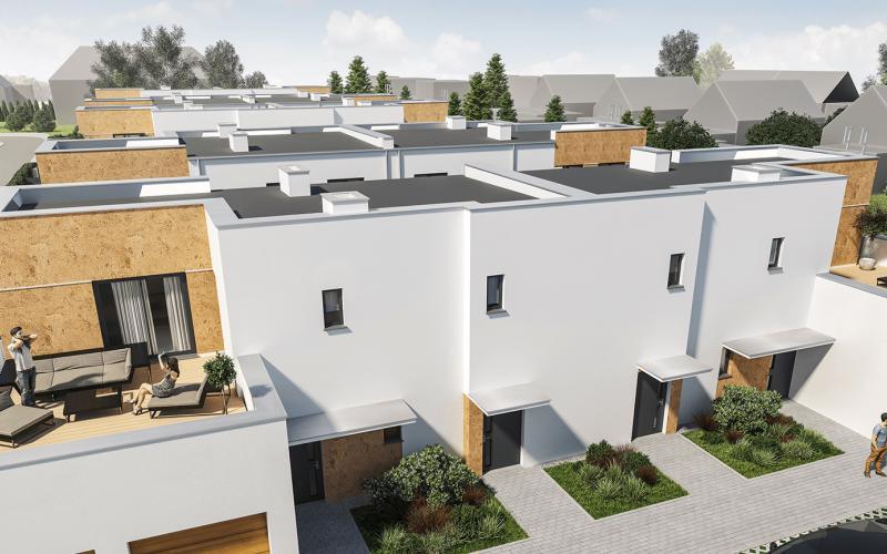 Poznań Dębiec ul. Bielska - Poznań, Dębiec, ul. Bielska, New House Development - zdjęcie 3