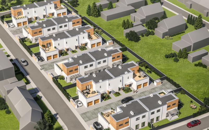 Poznań Dębiec ul. Bielska - Poznań, Dębiec, ul. Bielska, New House Development - zdjęcie 1